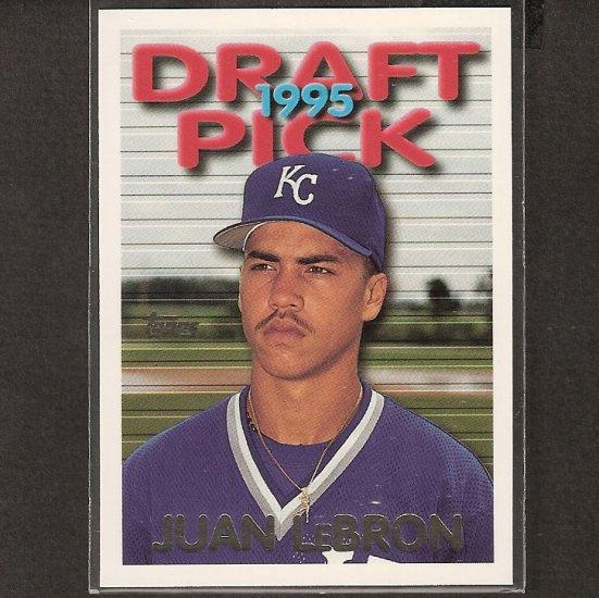 Juan Lebron Carlos Beltran 1995 Topps Traded Rookie Ny