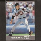 MIKE MUSSINA - 1991 Ultra Update ROOKIE - Orioles & NY Yankees