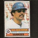 REGGIE JACKSON 1979 O-Pee-Chee - NY Yankees & California Angels