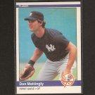 DON MATTINGLY 1984 Fleer RC - NY Yankees