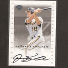 JASON KENDALL - 1996 Leaf Signature Series AUTOGRAPH - Pirates & Brewers