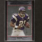 ADRIAN PETERSON 2007 Bowman Chrome ROOKIE - Sooners & Vikings