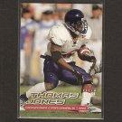 THOMAS JONES - 2000 Ultra SP ROOKIE CARD Virginia Cavaliers & NY Jets