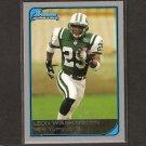 LEON WASHINGTON - 2006 Bowman ROOKIE CARD Seminoles & NY Jets
