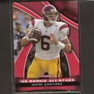 MARK SANCHEZ 2009 Bowman Draft Rookie All-Stars - USC Trojans & NY Jets