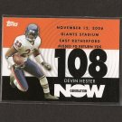 DEVIN HESTER 2007 Topps Generation Now - Chicago Bears & Miami Hurricanes