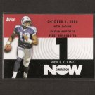 VINCE YOUNG 2007 Topps Generation Now - Tennessee Titans & Longhorns