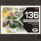 BRETT FAVRE 2007 Topps Flight to 420 - Packers & Vikings