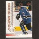 ZDENEK BLATNY 2000-01 Upper Deck Young Guns ROOKIE - Thrashers & Bruins