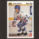 TEEMU SELANNE 1991-92 Upper Deck ROOKIE - Ducks, Sharks