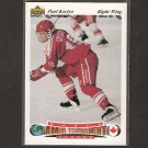PAUL KARIYA 1991-92 Upper Deck CZECH ROOKIE - Predators, Blues, Ducks, Maine Blackbears
