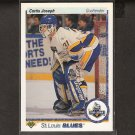 CURTIS JOSEPH 1990-91 Upper Deck ROOKIE - Blues, Oilers & Maple Leafs