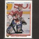 FELIX POTVIN 1990-91 Upper Deck ROOKIE - Maple Leafs, Islanders & Kings