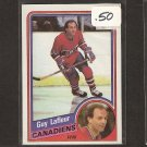 GUY LAFLEUR 1984-85 Topps - Montreal Canadiens