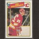 JOE NIEUWENDYK 1988-89 Topps ROOKIE - Flames, Stars, Devils & Panthers