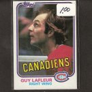 GUY LAFLEUR 1981-82 Topps - Montreal Canadiens
