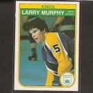 LARRY MURPHY 1982-83 O-Pee-Chee 2nd Year - Kings, Capitals, Penguins & Red Wings