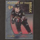 TONY AMONTE - 1996-97 Topps Premier Plus - Blackhawks & BU Terriers