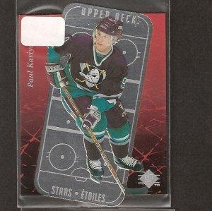 PAUL KARIYA 1996-97 SP Stars Etoiles - Ducks, Predators, Blues & Maine Blackbears