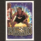 ALLEN IVERSON - 1999-00 Topps Record Numbers - Georgetown, 76ers, Grizzlies, Nuggets
