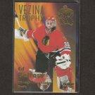 ED BELFOUR - 1996-97 Fleer Vezina Trophy - Blackhawks, Stars & Maple Leafs