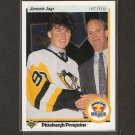 JAROMIR JAGR 1990-91 Upper Deck  ROOKIE - Penguins & Rangers