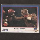 PERNELL WHITAKER - 1991 Kayo Boxing ROOKIE - Norfolk, Virginia