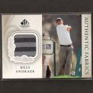BILLY ANDRADE - 2004 SP Signature Golf - PGA First Tee Shirt Swatch ROOKIE
