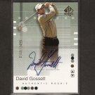 DAVID GOSSETT - 2002 SP Authentic Golf - PGA Rookie AUTOGRAPH