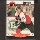 JIRI LATAL - Philadelphia Flyers - 1990-91 Pro Set  AUTOGRAPH