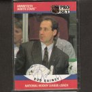 BOB GAINEY - Minnesota North Stars & Montreal Candiens - 1990-91 Pro Set  AUTOGRAPH