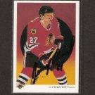 JEREMY ROENICK - Blackhawks, Coyotes & Sharks - 1990-91 Upper Deck AUTOGRAPH