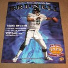 MARK BRUNELL 1997 Pacific Trading Cards HOBBY STORE POSTER - Jaguars