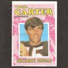 VIRGIL CARTER 1971 Topps Football Mini Poster - Cincinnati Bengals & BYU