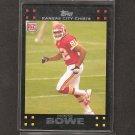 DWAYNE BOWE - 2007 Topps Rookie Card - Chiefs & LSU