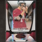 HUNTER CANTWELL - 2009 Donruss Certified RC - Panthers & Louisville Cardinals