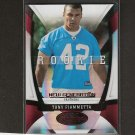 TONY FIAMMETTA - 2009 Donruss Certified RC - Panthers & Syracuse Orangemen