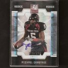 MICHAEL CRABTREE - 2009 Donruss Elite AUTOGRAPH Rookie - 49ers & Texas Tech Red Raiders