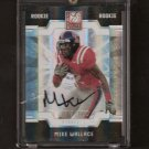 MIKE WALLACE - 2009 Donruss Elite AUTOGRAPH Rookie - Dolphins & Ole Miss #17/100