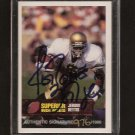 JEROME BETTIS - 1993 Superior Picks Autograph RC - Steelers & Notre Dame
