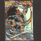 MIKE GRELL - 1993 Shaman's Tears Wizard Promo Holofoil AUTOGRAPHED CARD
