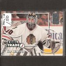 ED BELFOUR 1995-96 Donruss Elite COOL TRADE Redemption - Blackhawks, Stars, Leafs, Panthers