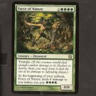FORCE OF NATURE - Magic the Gathering - OVERSIZE Box topper CARD