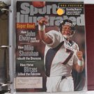 Sports Illustrated - JOHN ELWAY - Denver Broncos Super Bowl