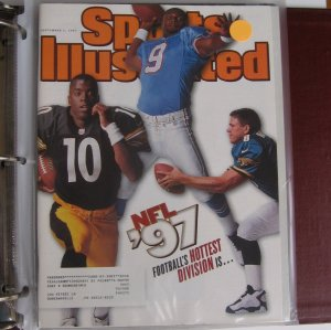Sports Illustrated - McNAIR, BRUNELL, KORDELL STEWART - Steelers, Jaguars & Titans