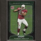 CHRIS BEANIE WELLS - 2009 Bowman Chrome ROOKIE - Cardinals & Ohio State Buckeyes