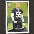 JAMES LAURINAITIS - 2009 Topps ROOKIE - Rams & Ohio State Buckeyes