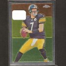 BEN ROETHLISBERGER - 2009 Topps Chrome Chicle - Miami of Ohio & Steelers