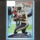ANTONIO GATES - 2009 Topps Chrome REFRACTOR - Kent State & Chargers