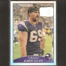 JARED ALLEN - 2009 Topps Chrome REFRACTOR - Idaho State & Vikings